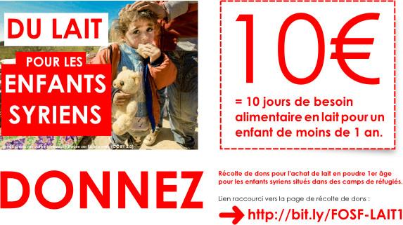 campagne lait maternisé FOFS 2014