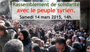 bandeau marche solidaire pour la pais en Syrie
