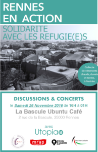 discussion-concert La Bascule 26/11/2016